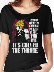 Dragonball Z - Vegeta (Special Place In Hell) Women's Relaxed Fit T-Shirt