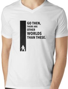 The Dark Tower Worlds Mens V-Neck T-Shirt