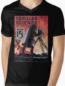 Popular Science Mens V-Neck T-Shirt