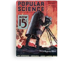 Popular Science Canvas Print