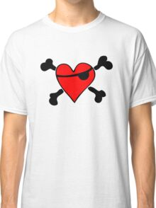 Pirate Heart (clear background) Classic T-Shirt