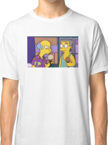 Mr Burns eating ice cream Classic T-Shirt