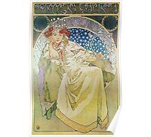 Alphonse Mucha - Princezna Hyacinta Poster