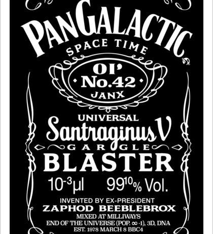 Pan Galactic Gargle Blaster - No. 42 [WHITE] Sticker