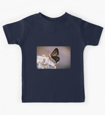 Copper Butterfly Kids Tee