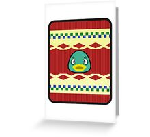 DRAKE ANIMAL CROSSING Greeting Card