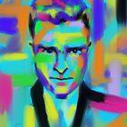 Justin Timberlake by Go van Kampen