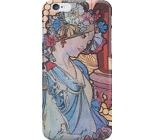Alphonse Mucha - Benedictine iPhone Case/Skin