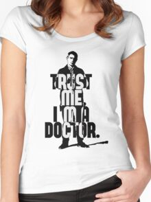 Watson. John Watson, the 2nd. Women's Fitted Scoop T-Shirt