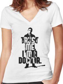 Watson. John Watson, the 2nd. Women's Fitted V-Neck T-Shirt
