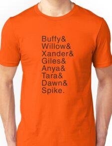 Buffy Characters (Seasons 4-6) Unisex T-Shirt
