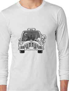 New York Taxi Driver Long Sleeve T-Shirt