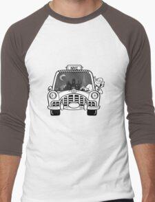 New York Taxi Driver Men's Baseball ¾ T-Shirt
