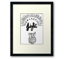 Everlasting Light Framed Print