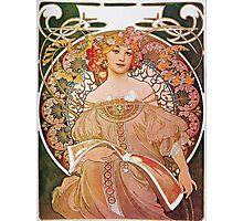 Alphonse Mucha - Reverie Daydream Photographic Print