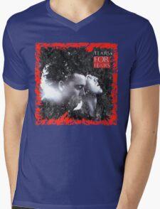 Shout Mens V-Neck T-Shirt