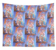 Midnight Sun Wall Tapestry