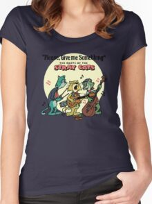 THE ROOTS OF THE STARY CATS Women's Fitted Scoop T-Shirt