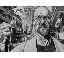 Broadway Man Photographic Print