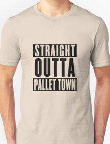 STRAIGHT OUTTA PALLET TOWN (A) Unisex T-Shirt