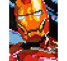 Lego Iron Man Photographic Print