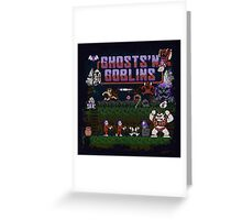 Goblins n' Ghosts Greeting Card