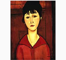 Amedeo Modigliani - Head Of A Young Girl  Unisex T-Shirt