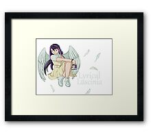 Ruri Kurosaki - Lyrical Luscinia Framed Print