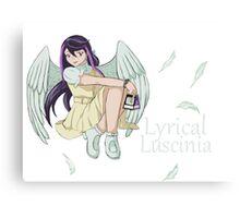 Ruri Kurosaki - Lyrical Luscinia Canvas Print