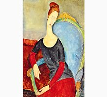 Amedeo Modigliani - Mme Hebuterne In A Blue Chair  Unisex T-Shirt