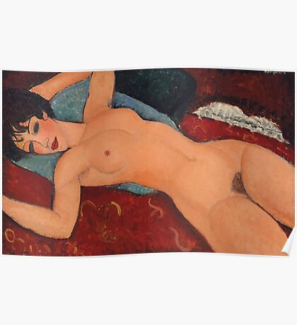 Amedeo Modigliani - Nu Couche Poster