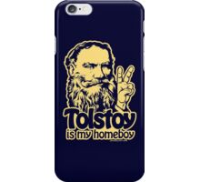 Tolstoy Is My Homeboy iPhone Case/Skin