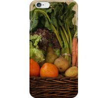 Vegetable Basket iPhone Case/Skin