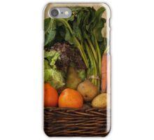 Vegetable Basket iPhone Case/Skin