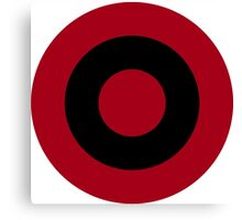Albanian Air Force Roundel  Canvas Print