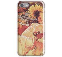 Alphonse Mucha - Chocolat Massonchocolat Mexicain Summer iPhone Case/Skin