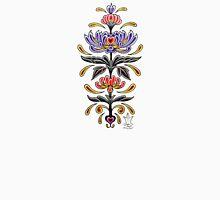 Mark C. Merchant original, hand drawn, tattoo inspired, floral design  Unisex T-Shirt