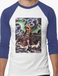 Dragonite Pokemon Master Men's Baseball ¾ T-Shirt
