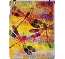 Mauritius Vintage Dragonflies Colours iPad Case/Skin