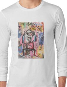 Untitled (Noise) Long Sleeve T-Shirt