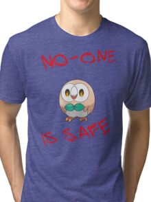 Rowlet, Destroyer of Worlds Tri-blend T-Shirt