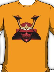 Red Kabuto (Samurai helmet) T-shirts and Stickers T-Shirt