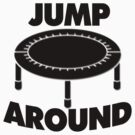 Jump Around Trampoline by FireFoxxy