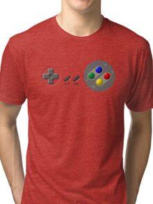 SNES Controller Tri-blend T-Shirt