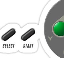 SNES Controller Sticker