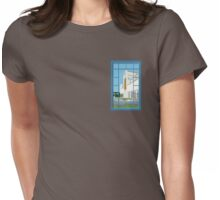 Winery Afternoon Womens Fitted T-Shirt