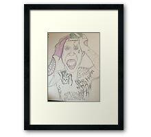 Jared Letos' Joker Suicide Squad Framed Print