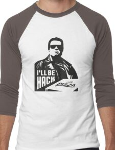 Terminator i'll be hack Men's Baseball ¾ T-Shirt