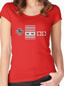 NES Controller Women's Fitted Scoop T-Shirt