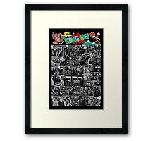 Kong Off 3 Poster Framed Print